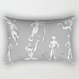 Chat Noir - Model Sheet Rectangular Pillow