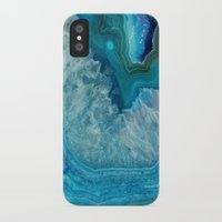 agate iPhone & iPod Cases featuring Agate by lescapricesdefilles