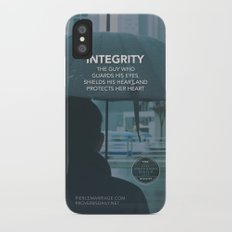 INTEGRITY (General) iPhone X Slim Case
