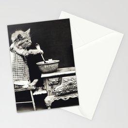 Kitchen Kitten Stationery Cards