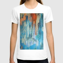 Symphony in Orange and Blue T-shirt