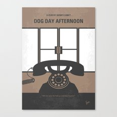 No479 My Dog Day Afternoon minimal movie poster Canvas Print