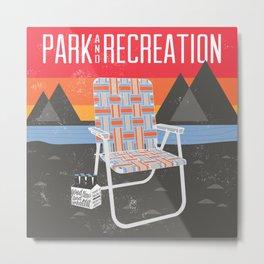 Park & Recreation Metal Print