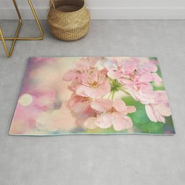 Candy Pink, Lime Green, Vanilla Cream Rug