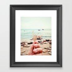 Ocean Stuff Framed Art Print