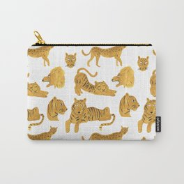 Tiger, Lion, Cheetah Carry-All Pouch
