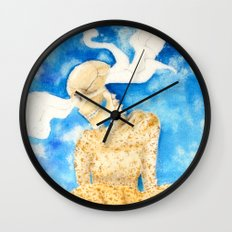 Concentration #6 Wall Clock