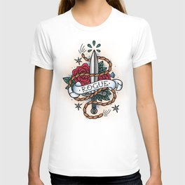 Rogue - Vintage D&D Tattoo T-shirt
