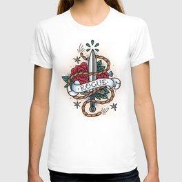 Rogue - Vintage D&D Tattoo T-shirt