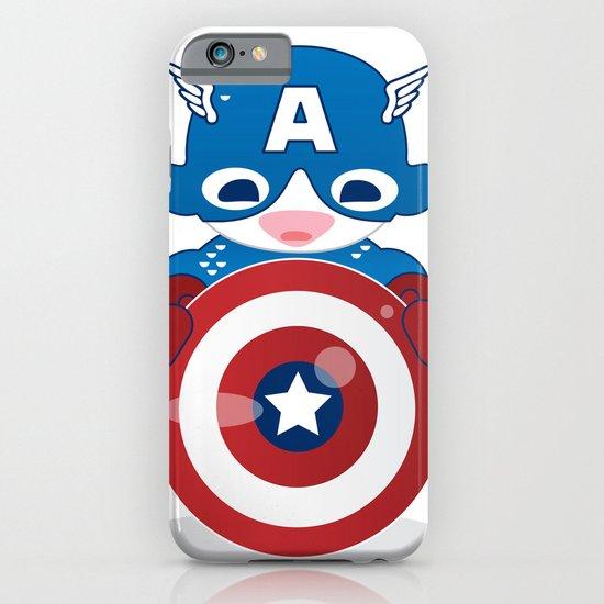 CAPTAIN AMERICA ROBOTIC iPhone & iPod Case