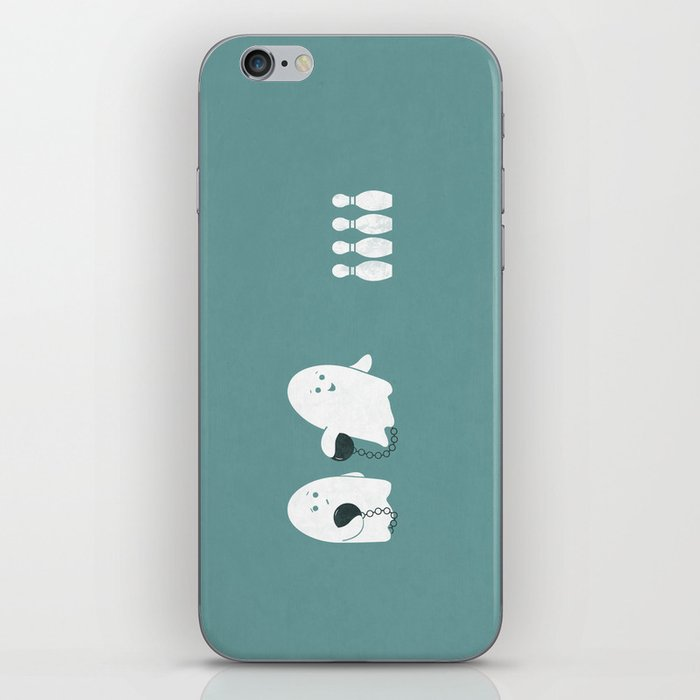 Bowling Ghost iPhone Skin