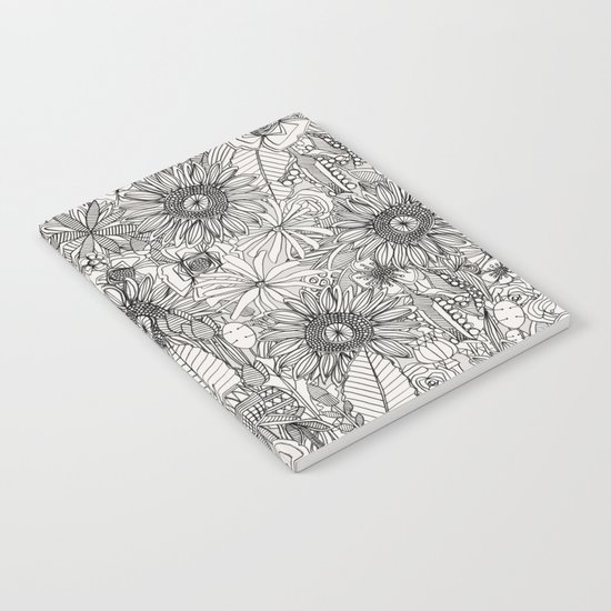 pencil flowers Notebook