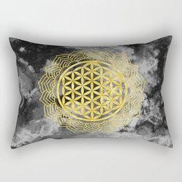 Flower Of Life (Batik 10) Rectangular Pillow