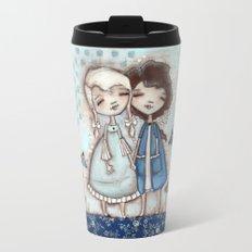 When I Am Blue - by Diane Duda Travel Mug