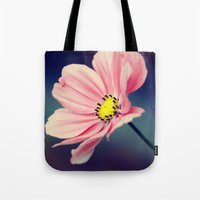 cosmos Tote Bags featuring Cosmos by Lawson Images