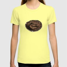This was a Cupcake. Lemon MEDIUM Womens Fitted Tee
