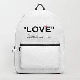 """LOVE"" Backpack"