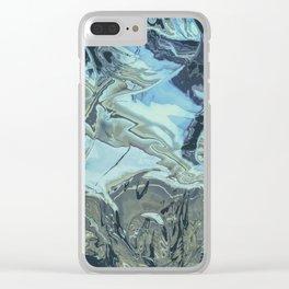 chrome flo tho Clear iPhone Case