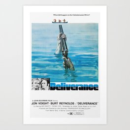 Deliverance  1972 - What did happen on the Cahulawassee River? Art Print