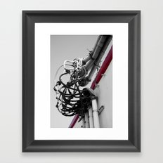 We've got our Wires Crossed Framed Art Print