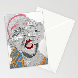 Breakfast, or ectoplasm? Stationery Cards