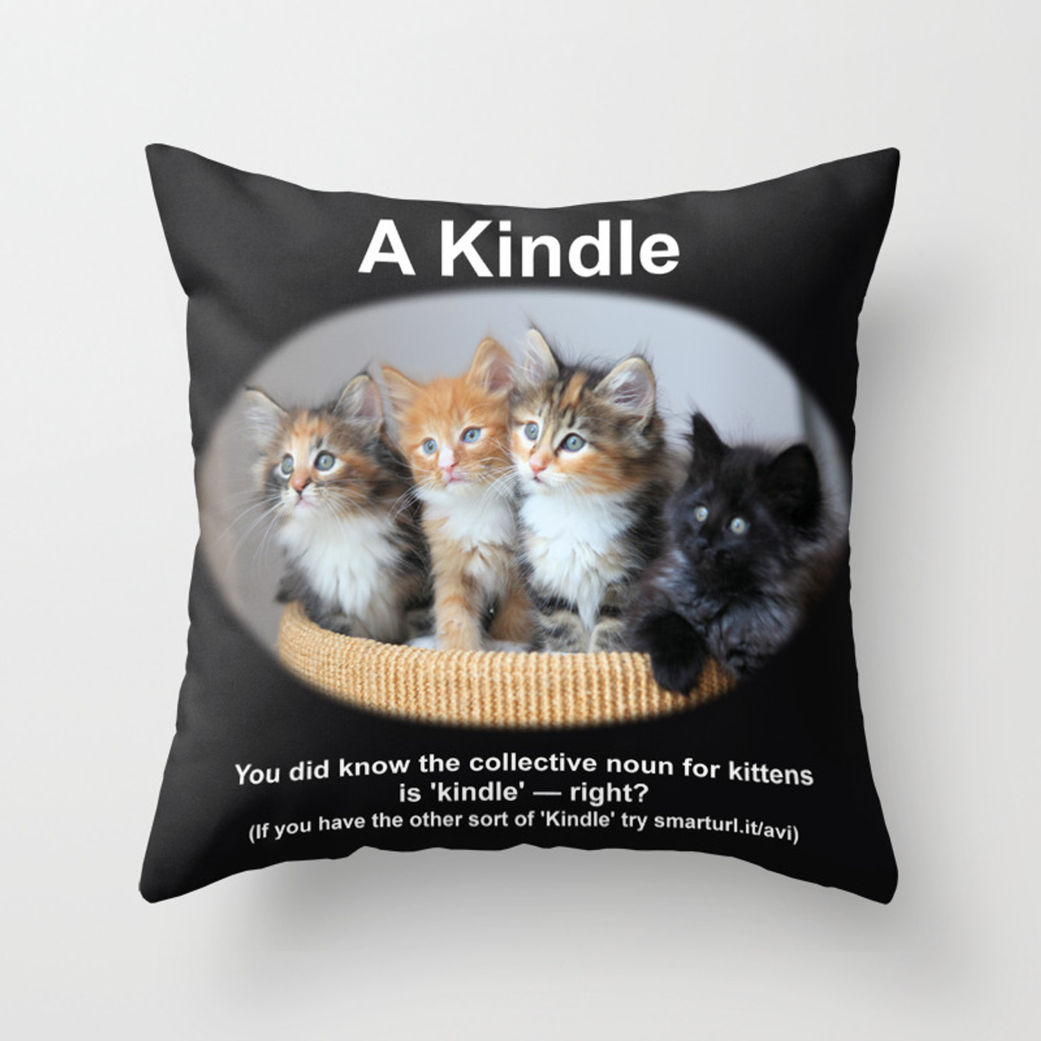 A Kindle Of Kittens Throw Pillow By Jaydax Society6