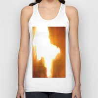 square Tank Tops featuring Square by Charlène Levasseur