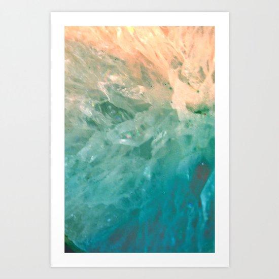 Solar Crystals Art Print