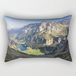 Down in the Valley Rectangular Pillow
