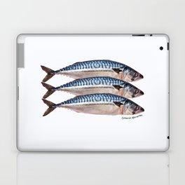 Fresh Cornish Mackerel Laptop & iPad Skin