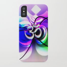 ॐ) iPhone Case