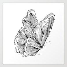Butterfly Go Fly 2 Art Print