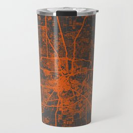 Houston map Travel Mug