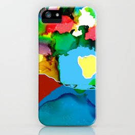 Ocean Encroaching 2018 iPhone Case