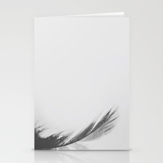 Feathery Stationery Cards