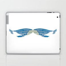 VINTAGE WHALE WATERCOLOR Laptop & iPad Skin
