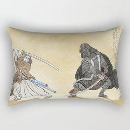 Samurai Wars I - Classic Rectangular Pillow