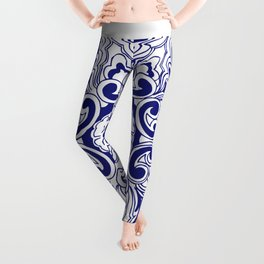 Chinese Lucky Pattern Leggings