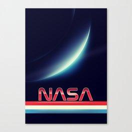 NASA Earthrise Canvas Print