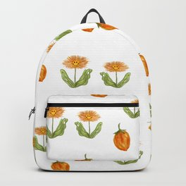 orange daisies on a summer day Backpack