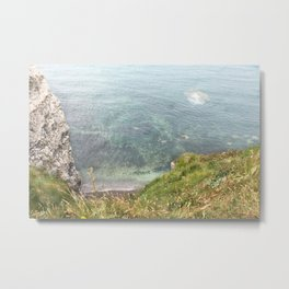 Etretat, France - Beach Metal Print