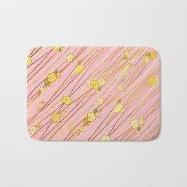 Creeping Flower & Leaves 3 Bath Mat