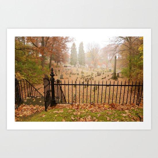 Mount Hope Cemetery Art Print