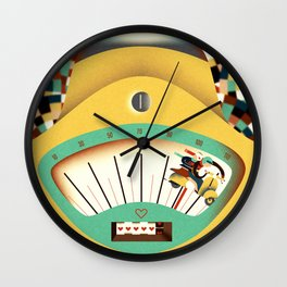 as fast as love Wall Clock