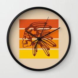 Nod to the 70's Wall Clock