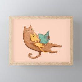 The Cat's Mother Framed Mini Art Print