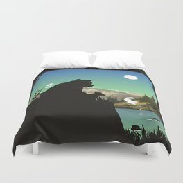 Out For Adventure Duvet Cover