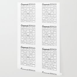 Corporate Jargon Buzzword Bingo Card Wallpaper