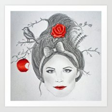 Snow White II Art Print