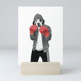 Street boxer Mini Art Print